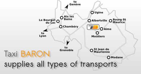 Taxi Baron transfers in Savoy
