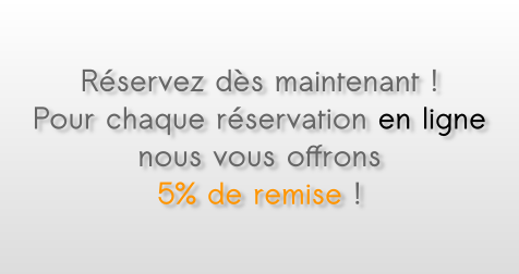 Reservation taxi en ligne, promotion, reduction