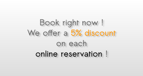 Discount Offer online reservation