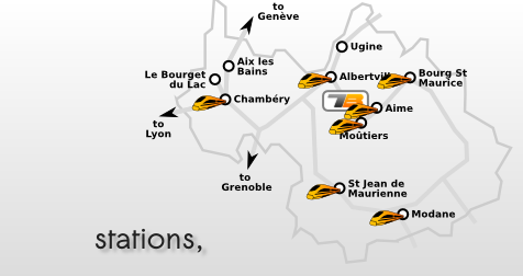 Taxi Geneve and Lyon airports to Courchevel